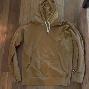 American eagle golden mustard hoodie